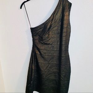 Express One Shoulder Mini Dress